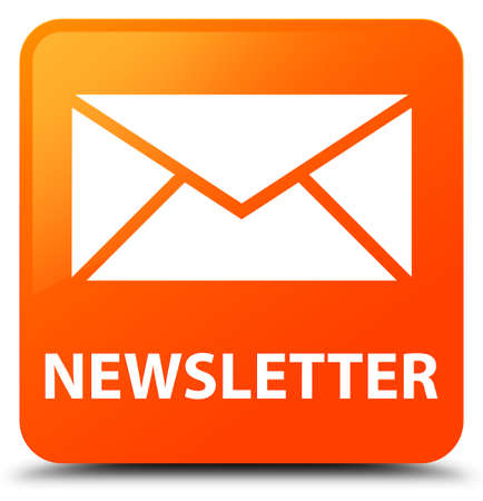 square button: Newsletter orange square button