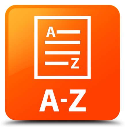az: A-Z (list page icon) orange square button