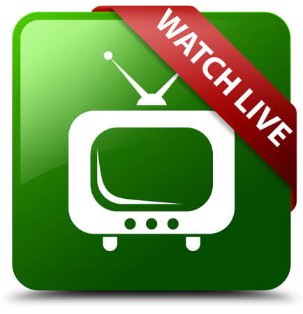 Watch live green square button