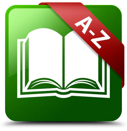 az: A-Z (book icon) green square button