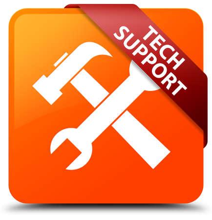Tech support (tools icon) orange square button