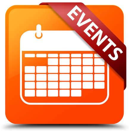 Events (calendar icon) orange square button