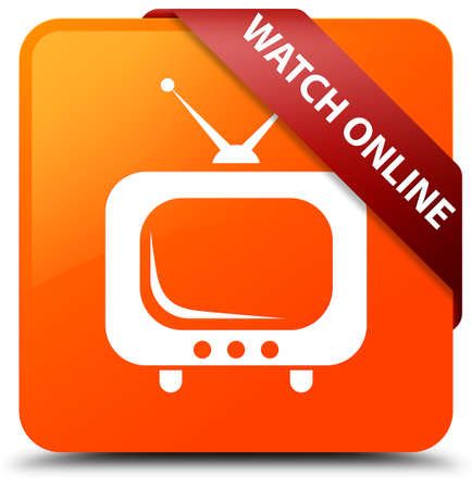 Watch online orange square button