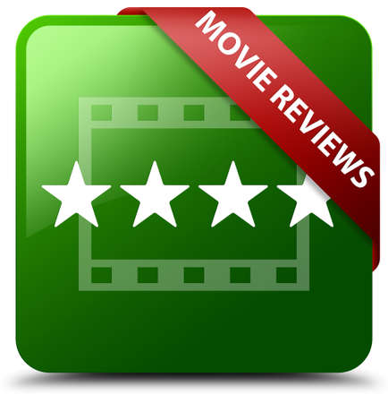 Movie reviews green square button