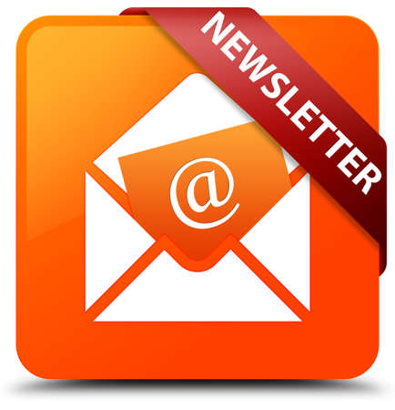 Newsletter orange square button