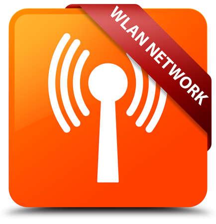 Wlan network orange square button