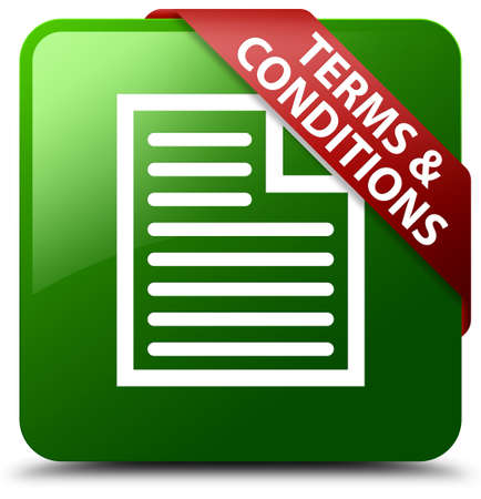 terms: Terms and conditions (page icon) green square button