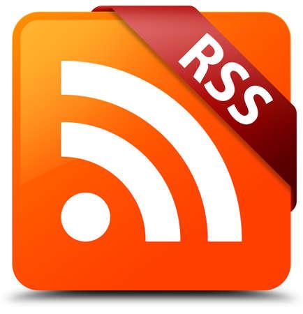 RSS orange square button