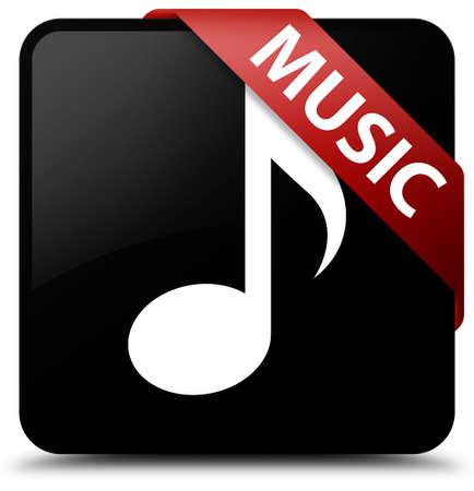 square button: Music black square button