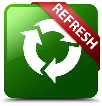 Refresh green square button
