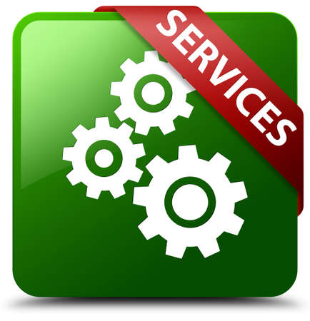 Services (gears icon) green square button
