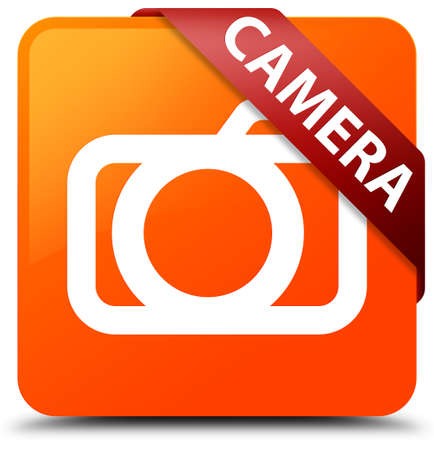 Camera orange square button