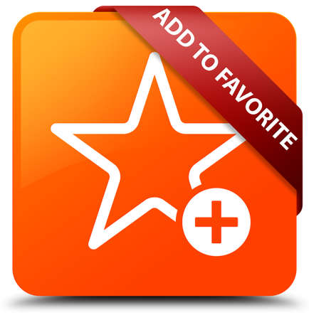 Add to favorite orange square button