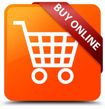 Buy online orange square button