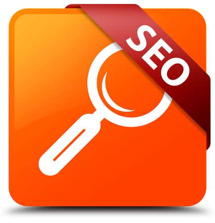 Seo orange square button