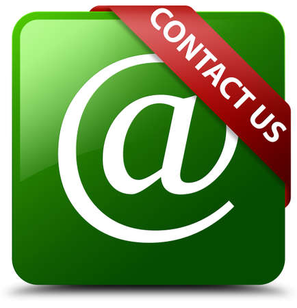 Contact us (email address icon) green square button