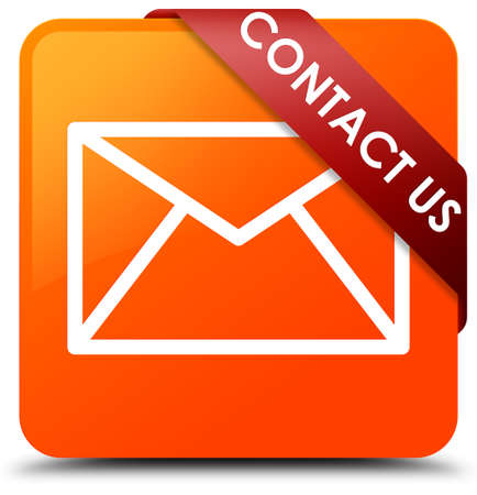 Contact us (email icon) orange square button