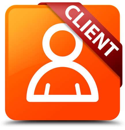 Client (member icon) orange square button