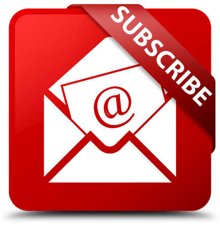 Subscribe (newsletter email icon) red square button