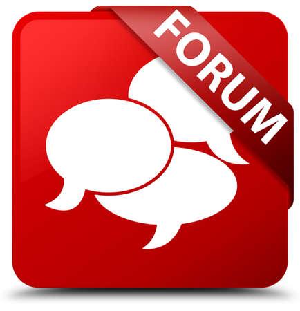 argument: Forum (comments icon) red square button