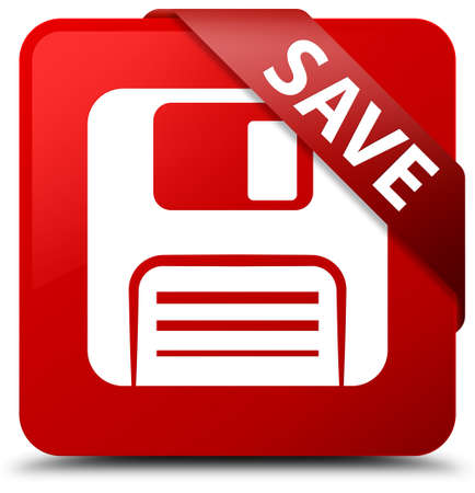 website buttons: Save (floppy disk icon) red square button