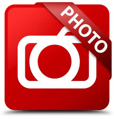 Photo (camera icon) red square button