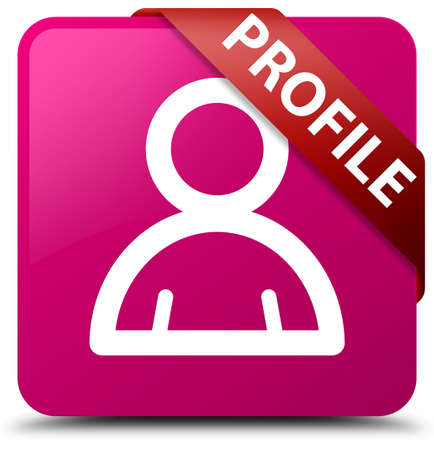 Profile (member icon) pink square button