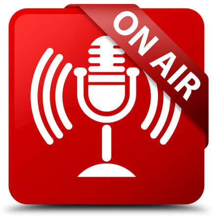 On air (mic icon) red square button