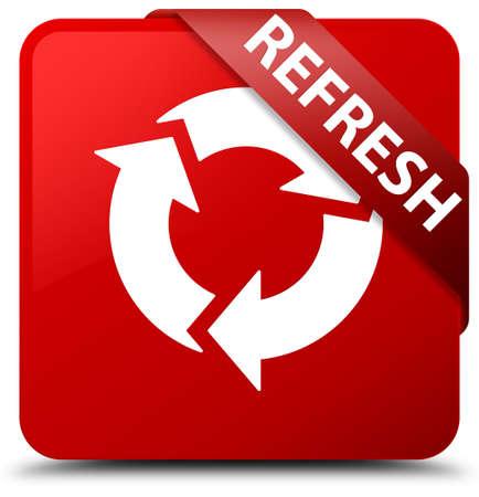 Refresh red square button