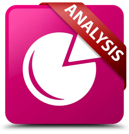 stat: Analysis (graph icon) pink square button