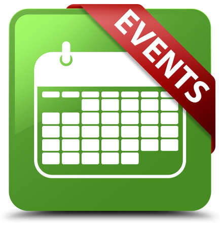 reminder: Events (calendar icon) soft green square button