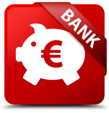 penny: Bank (piggy box euro sign) red square button
