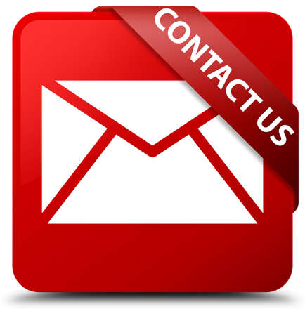 envelope: Contact us (email icon) red square button