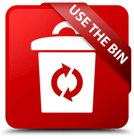 Use the bin red square button