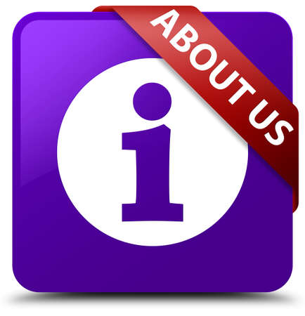 about: About us purple square button