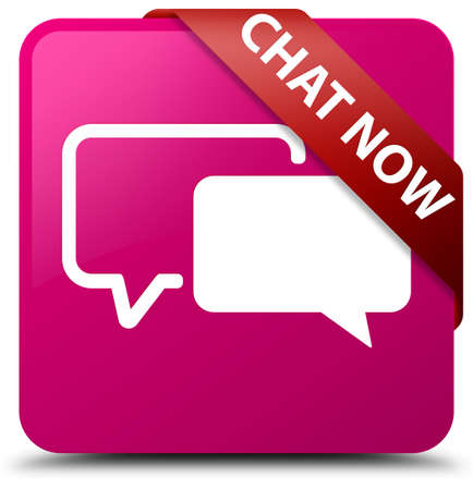 contacts group: Chat now pink square button
