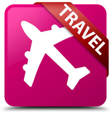 air: Travel (plane icon) pink square button
