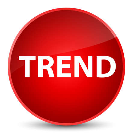 Trend isolated on elegant red round button abstract illustration 스톡 콘텐츠