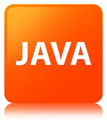 オレンジ色の四角ボタンに分離された Java の反射抽象イラスト