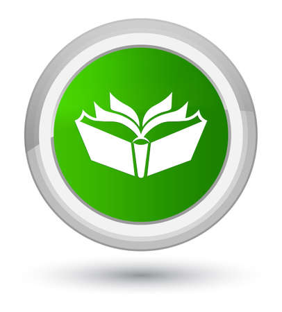 Translation icon isolated on prime green round button abstract illustration