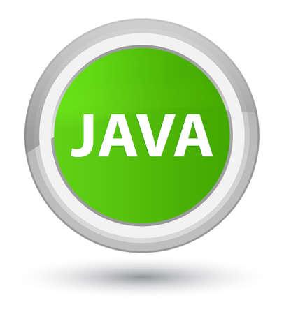 Java はプライムソフトグリーンラウンドボタンの抽象的なイラストに分離