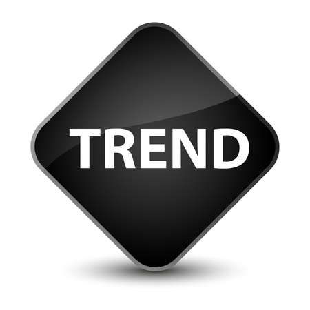 Trend isolated on elegant black diamond button abstract illustration Stok Fotoğraf