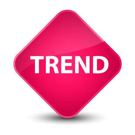 Trend isolated on elegant pink diamond button abstract illustration Stok Fotoğraf