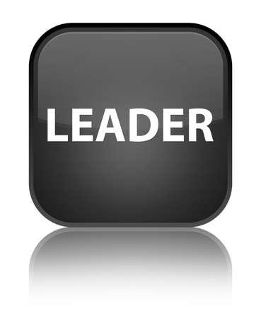 リーダー特別な黒四角ボタンで分離された反映の抽象的なイラスト
