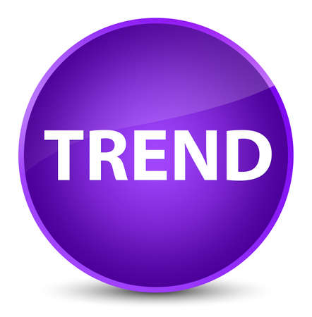 Trend isolated on elegant purple round button abstract illustration 스톡 콘텐츠