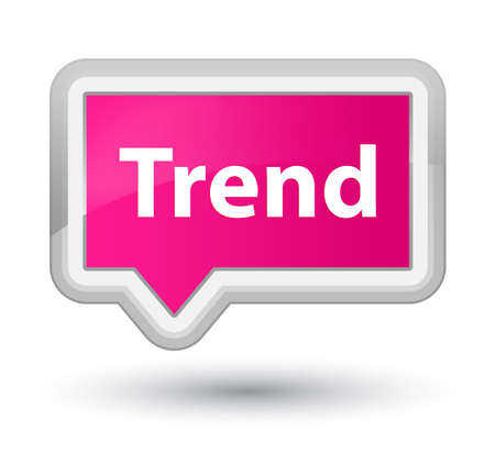 Trend isolated on prime pink banner button abstract illustration