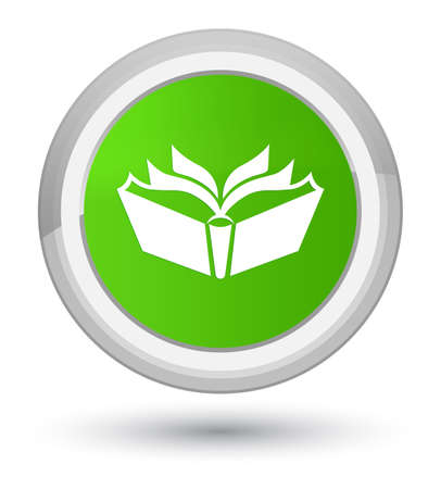 Translation icon isolated on prime soft green round button abstract illustration