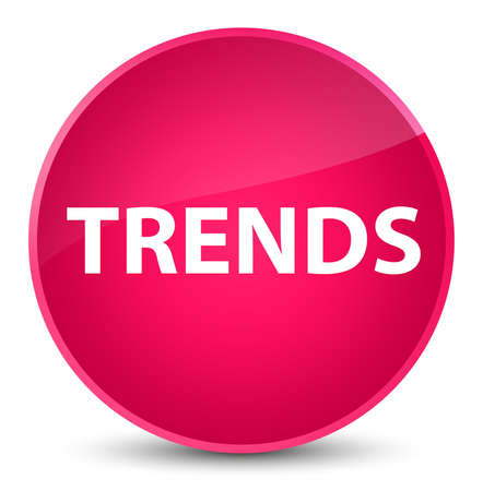 Trends isolated on elegant pink round button abstract illustration 스톡 콘텐츠