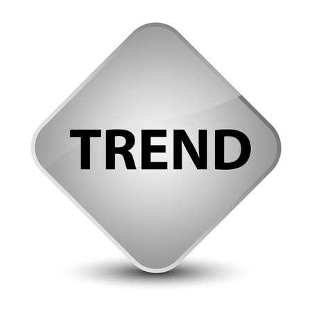 Trend isolated on elegant white diamond button abstract illustration