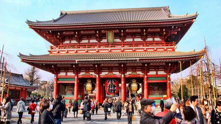 Asakusa Kannon Temple in Tokyo, Japan